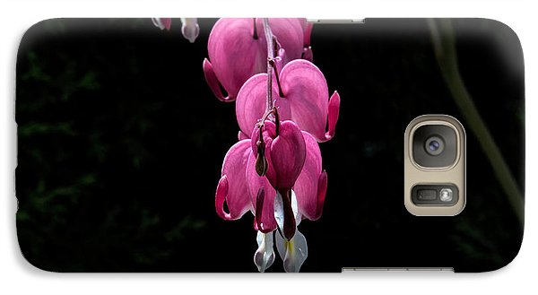 Galaxy Case featuring the photograph Bleeding Hearts by Leif Sohlman