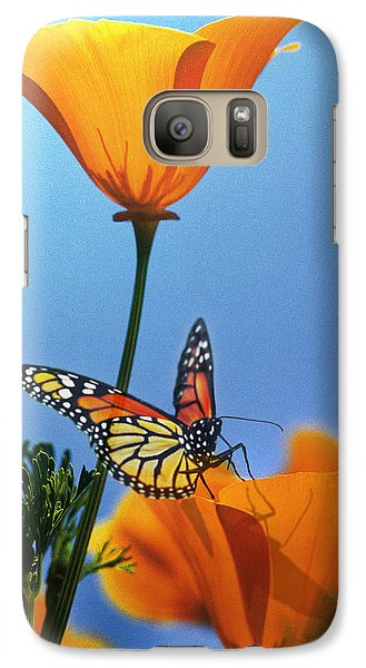 Galaxy Case featuring the digital art Blessed By The Sun by Evie Cook