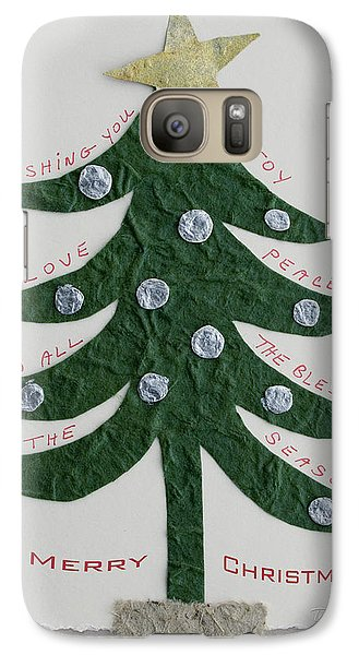 Galaxy Case featuring the photograph Blessing Tree by Terri Harper