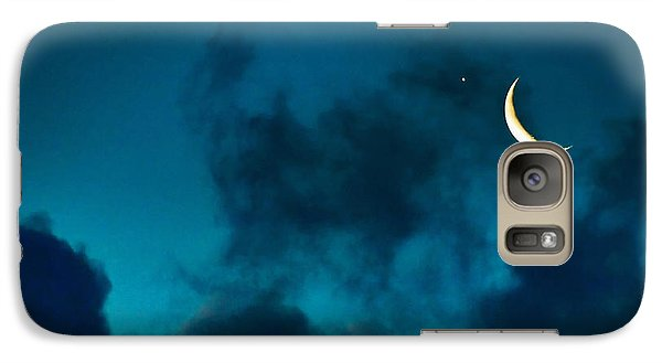Galaxy Case featuring the photograph Blind Date With Venus by Meir Ezrachi