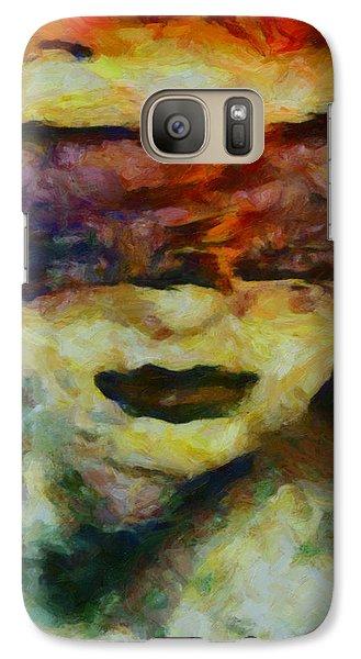 Galaxy Case featuring the digital art Blinded By Sorrow by Joe Misrasi