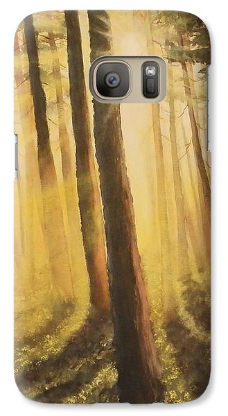 Galaxy Case featuring the painting Blinded by Dan Wagner