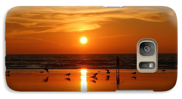 Bliss At Sunset   Galaxy S7 Case