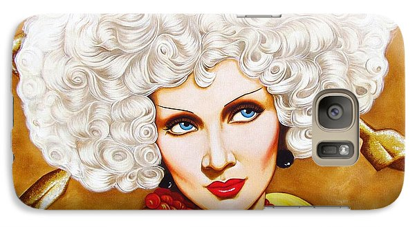 Galaxy Case featuring the painting Blonde Venus by Joseph Sonday