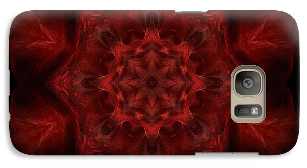 Galaxy Case featuring the digital art Blood Of Me by Rhonda Strickland