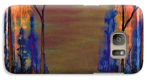 Galaxy Case featuring the painting Blood Roots by David Mckinney