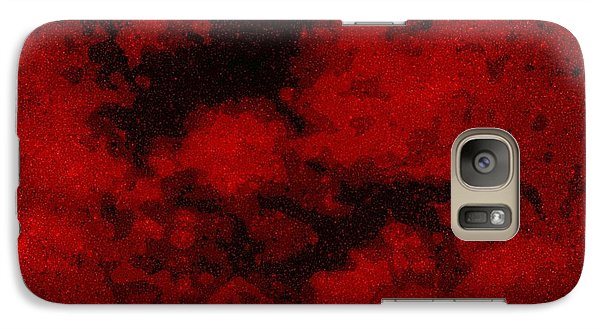 Galaxy Case featuring the photograph Blood Sky by Andy Heavens