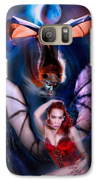 Galaxy Case featuring the photograph Blood Wings by Glenn Feron