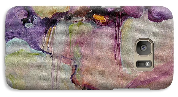 Galaxy Case featuring the painting Bloom 103 by Elis Cooke