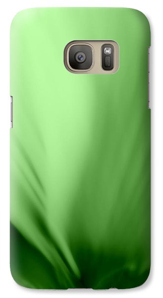 Galaxy Case featuring the photograph Bloom In Green by Mary Beth Landis