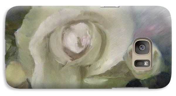 Galaxy Case featuring the painting Blooming Beautiful by Lori Ippolito