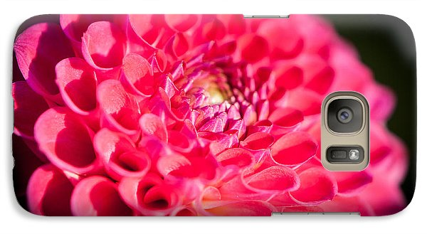 Galaxy Case featuring the photograph Blooming Red Flower by John Wadleigh