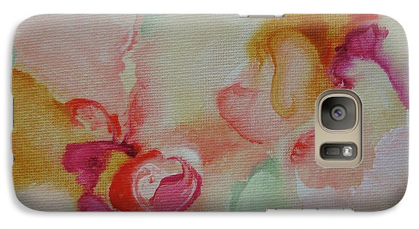 Galaxy Case featuring the painting Blossoming 110 by Elis Cooke