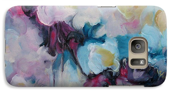 Galaxy Case featuring the painting Blossoming Iv by Elis Cooke