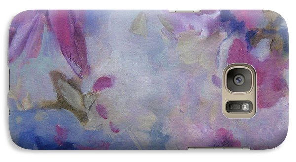 Galaxy Case featuring the painting Blossoming V by Elis Cooke