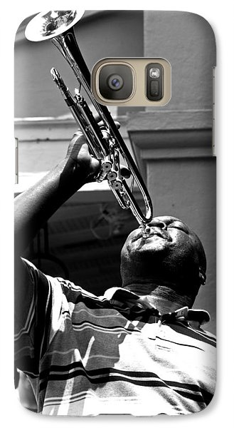 Galaxy Case featuring the photograph Blow Baby Blow by Andy Crawford