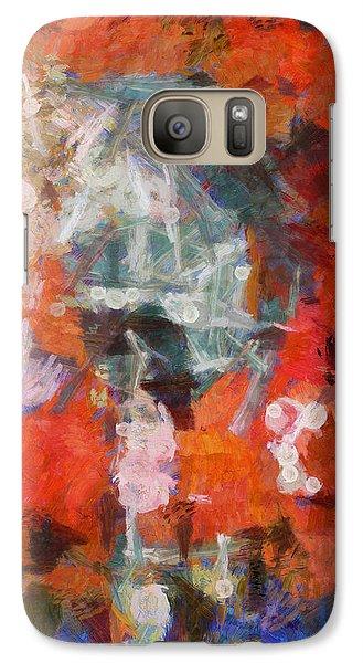 Galaxy Case featuring the digital art Blows Away In The Wind by Joe Misrasi
