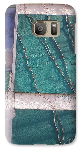 Galaxy Case featuring the photograph Blue And Gray by Suzanne McKay