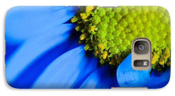 Galaxy Case featuring the photograph Blue And Yellow by Erin Kohlenberg