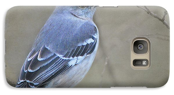 Galaxy Case featuring the photograph Blue Bird by Linda Segerson