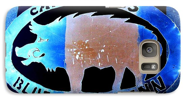 Galaxy Case featuring the photograph Blue Boar Inn II by Larry Campbell