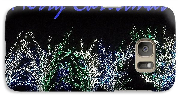 Galaxy Case featuring the photograph Blue Christmas by Darren Robinson