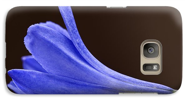 Galaxy Case featuring the photograph Blue Curve by Trevor Chriss