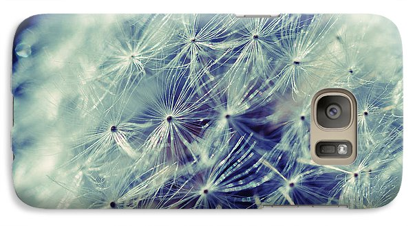 Galaxy Case featuring the photograph Blue Dandy by Mindy Bench