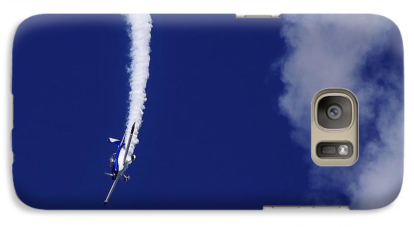 Galaxy Case featuring the photograph Blue Daredevil by Don Youngclaus