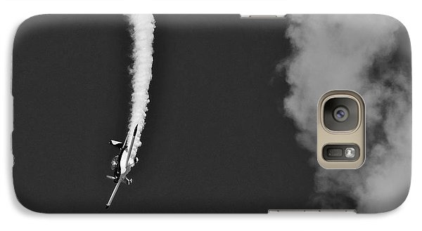 Galaxy Case featuring the photograph Blue Daredevil In Bw by Don Youngclaus