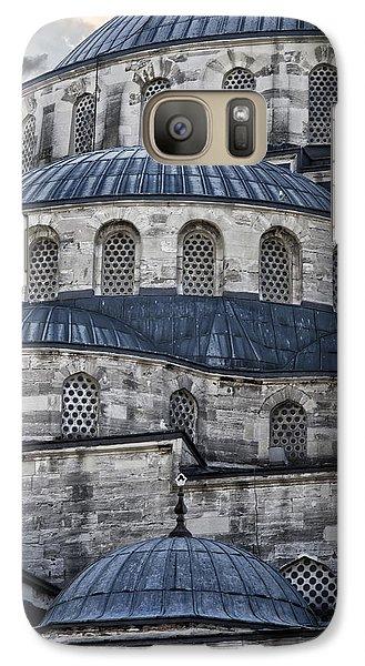 Blue Dawn Blue Mosque Galaxy S7 Case