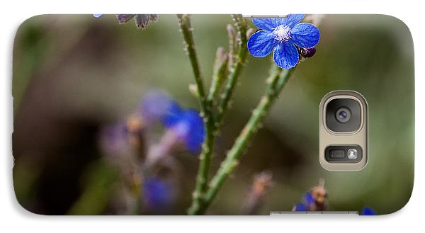 Galaxy Case featuring the photograph Blue Delight by Uri Baruch