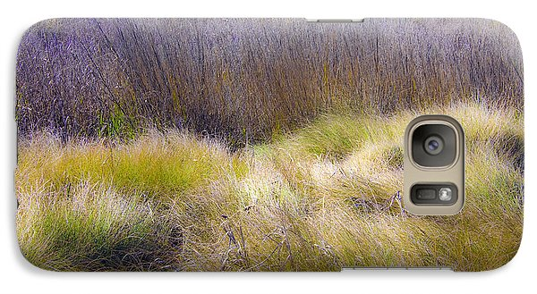 Galaxy Case featuring the photograph Blue Grass by Paula Porterfield-Izzo