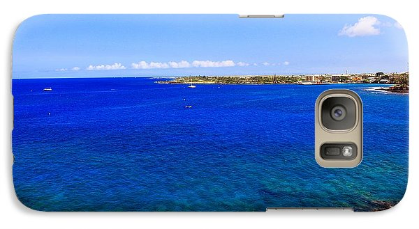 Galaxy Case featuring the photograph Blue Hawaiii by Athala Carole Bruckner