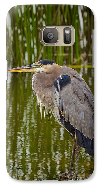 Galaxy Case featuring the photograph Blue Heron by Duncan Selby