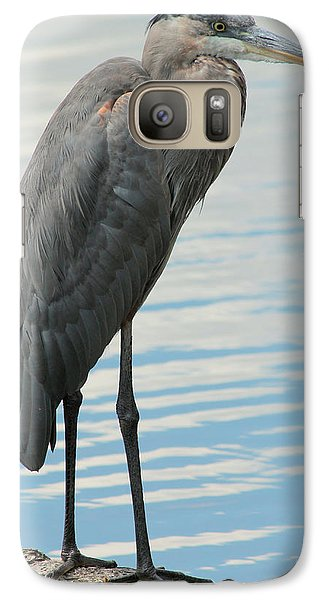 Galaxy Case featuring the photograph Blue Heron  by Kenny Glotfelty