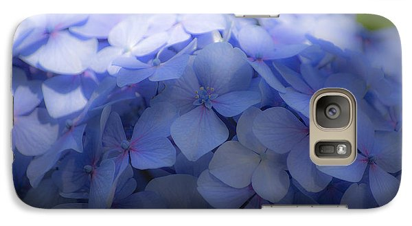 Galaxy Case featuring the photograph Blue Hydrangea One by Craig Perry-Ollila