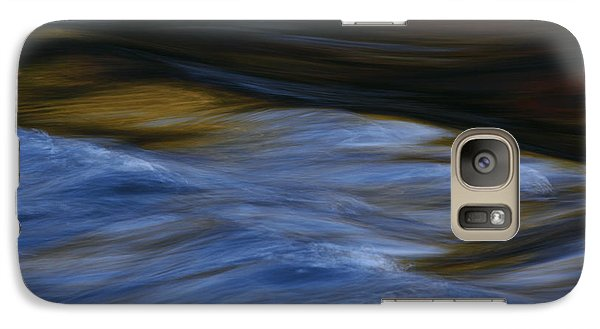 Galaxy Case featuring the photograph Blue Georgia Impressions by John F Tsumas