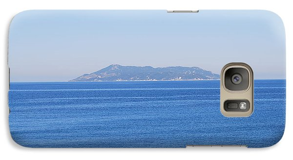 Galaxy Case featuring the photograph Blue Ionian Sea by George Katechis