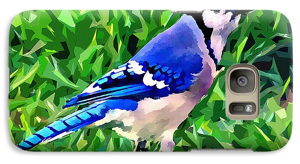 Blue Jay Galaxy S7 Case by Stephen Younts