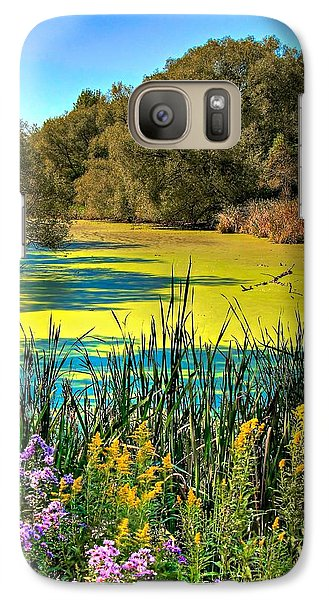 Galaxy Case featuring the photograph Blue Lagoon 2 by Michaela Preston