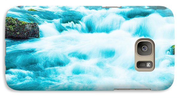 Galaxy Case featuring the photograph Blue Lagoon by Steven Bateson
