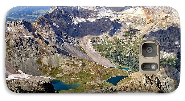 Galaxy Case featuring the photograph Blue Lakes Beauty by Jeremy Rhoades