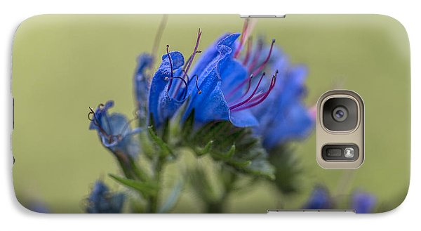 Galaxy Case featuring the photograph Blue by Leif Sohlman