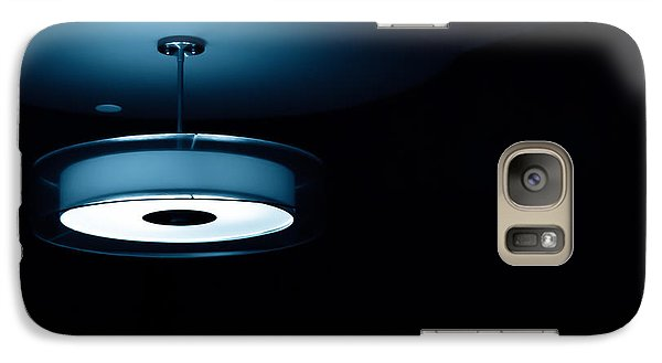 Galaxy Case featuring the photograph Blue Light by Darryl Dalton