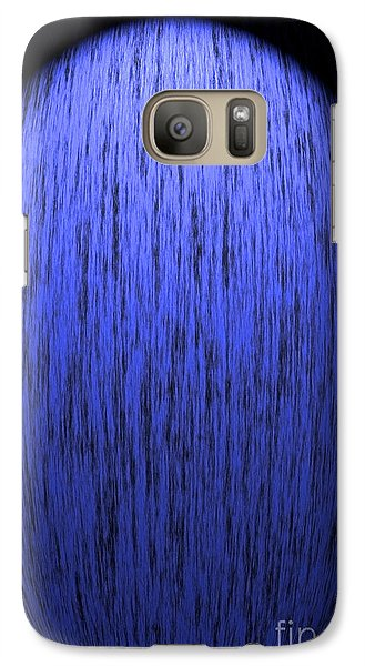 Galaxy Case featuring the photograph Blue Light by Kate Purdy