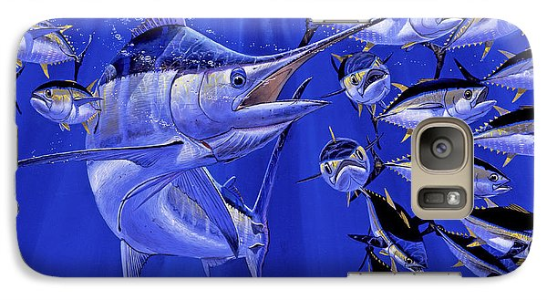Blue Marlin Round Up Off0031 Galaxy S7 Case