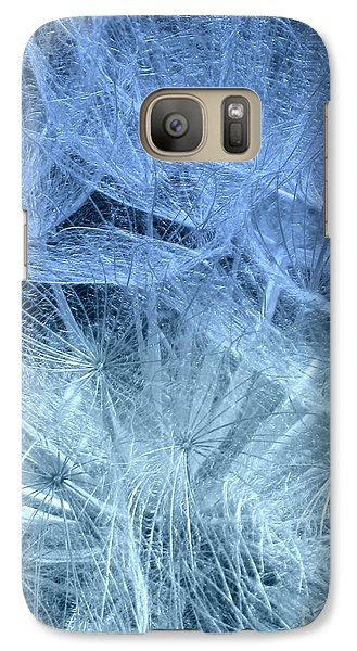 Galaxy Case featuring the photograph Blue Mist by France Laliberte