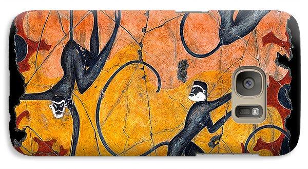 Blue Monkeys No. 9 Galaxy S7 Case