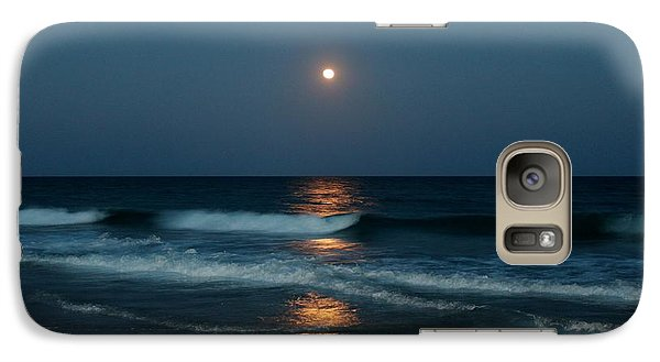 Galaxy Case featuring the photograph Blue Moon by Cynthia Guinn